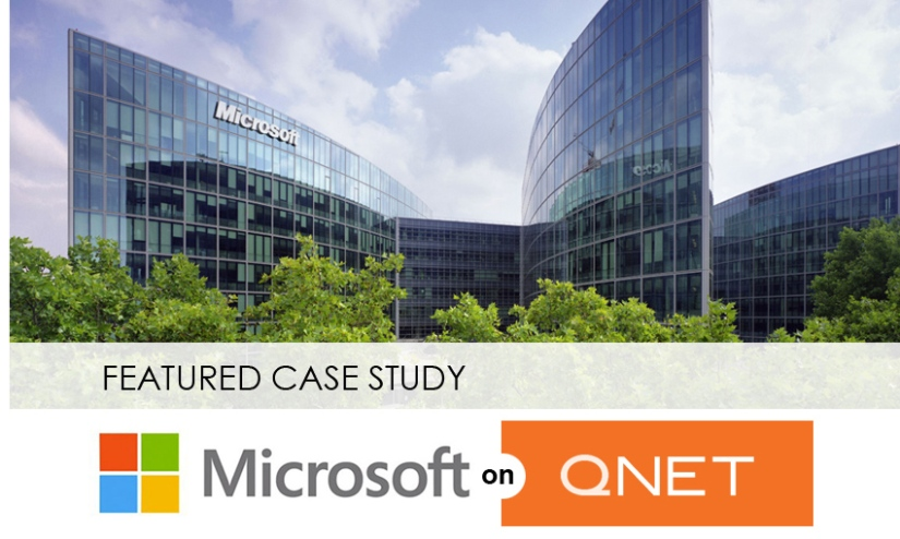 microsoft case studies qnet View the case study  office 365 transition helps small business control costs & boost efficiency brown metals is a small, family-owned business that provides stainless steel distribution and other value-added services like slitting, cut-to-length, edge conditioning and oscillate winding to cus.